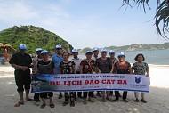 Ảnh Tour Du Lịch Cát Bà Tiêu Biểu Của Các Cô Chú Cựu Chiến Binh