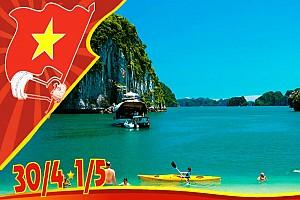 Tour du lịch Cát Bà 30/4: khám phá đảo ngọc